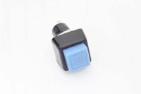 Кнопка PBS-21B Off-(On) синяя 250V 1A без фиксации