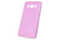 """Чехол """"под кожу"""" Samsung Galaxy A3 (розовый) 00-168"""
