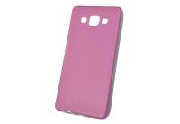 """Чехол """"под кожу"""" Samsung Galaxy A5 (розовый) 00-173"""