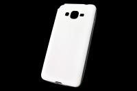 "Чехол ""под кожу"" Samsung Galaxy G530 (белый) 00-175"