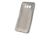 "Чехол ""Re:case Perforation glossy"" Samsung Galaxy S8 (серебро) 00-222"