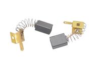 577 Электроугольная щетка 6х9х12 пружина зацеп с креплением папа (для Интерскол УШМ 125/1100)