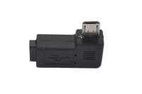 """Переходник для видеорегистратора micro-USB B 5-pin """"шт"""" > micro-USB B 5-pin """"гн"""" (угловой)"""