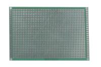 Плата макетная односторонняя,  80х120х1,6мм. шаг-2,54мм
