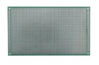 Плата макетная односторонняя,  90х150х1,6мм. шаг-2,54мм