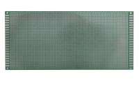Плата макетная односторонняя, 100х220х1,6мм. шаг-2,54мм