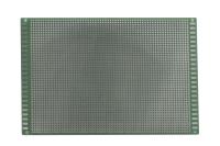Плата макетная односторонняя, 120х180х1,6мм. шаг-2,54мм