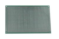 Плата макетная двусторонняя,  90х150х1,6мм. шаг-2,54мм