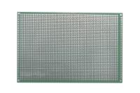 Плата макетная двусторонняя, 100х150х1,6мм. шаг-2,54мм