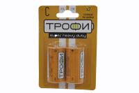 Трофи R14-2BL батарейка