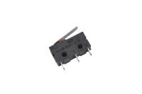 Микропереключатель для СВЧ печей 16mm Mini 3-pin с рычагом 16mm (SIM)