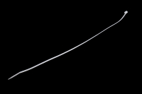 Кабельная стяжка 5.0x200 (100шт) белая 9-550W