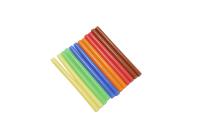 Стержень для клеевого пистолета D=7mm L=100mm цветной (12 шт) 09-1020