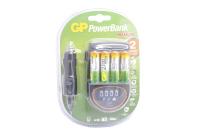 Зарядное устройство GP+4AAx2700mA+ адаптер для автомобиля