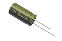 2200mkF  35v 105C Jamicon WL (комп.) конденсатор