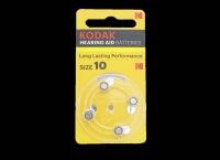 Kodak ZA10-4BL 1.4V 90mAh (для слуховых аппаратов)