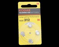 Kodak ZA312-4BL 1.4V 170mAh (для слуховых аппаратов)