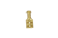 "Клемма плоская ""гн"" 4.8mm gold DJ622-4.8 08-0920"