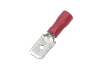 """Клемма плоская """"шт"""" 6.3mm красная MDD1.25-250 08-0313"""