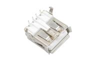 Разъем USB 2.0 A гнездо на плату (USBA-1J)