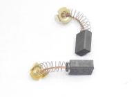 Электроугольная щетка 6х10х14 пружина, пятак-уши для Makita СВ-105