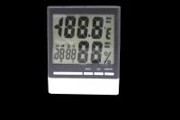 CX-318 Термометр комнатный с влажностью и часами
