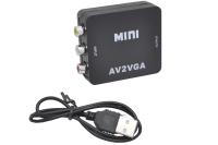 Конвертор 3 RCA (вход) VGA (выход) AV2VGA