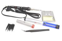 Набор паяльный Помощник PM-INP17 220V/80W (10 предметов)