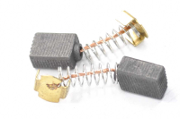 A0392 Электроугольная щетка 5х8х10 пружина, пятак-уши для Интерскол МП-100