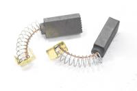 9700020235 Электроугольная щетка 5х8х17 пружина, клемма-скоба для Интерскол П 710 №525