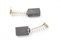 570 Электроугольная щетка 5х9х12 пружина, пятак-уши для Интерскол Р-82ТС