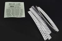 Набор чип-конденсаторов 0805 0,01mkF-1mkF 12 номиналов 400шт