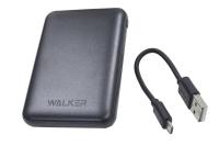 20223 Портативное зарядное устройство Walker WB-305 5000mA-ч, 2USB, 2.1A, черное