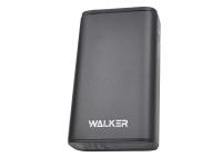 20238 Портативное зарядное устройство Walker WB-710QC 10000mA-ч, Li-Pol, QC3.0, 18Вт, USBx2, Type-C, дисплей, металл, черное