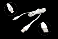 55720 Кабель ACD-Life USB 2.0 AM-iPhone 5/5S/6/6+/6S/6S+/7/7+ Lightning, ACD-U920-P5W, 1.0м белый