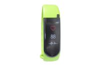 56774 Фитнес трекер Lime 116HR green (пульсометр, шагомер, подсчет калорий, часы, будильник, зеленый ремешок)
