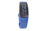 56766 Фитнес трекер Lime 117HR blue (пульсометр, шагомер, подсчет калорий, часы, будильник, синий ремешок)