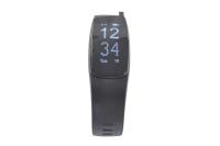 56765 Фитнес трекер Lime 117HR Black (пульсометр, шагомер, подсчет калорий, часы, будильник, черный ремешок)