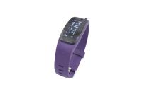 56767 Фитнес трекер Lime 117HR purple (пульсометр, шагомер, подсчет калорий, часы, будильник, пурпурный ремешок)