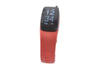 56768 Фитнес трекер Lime 117HR red (пульсометр, шагомер, подсчет калорий, часы, будильник, красный ремешок)