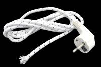 Шнур для утюга (провод ШРО-ВП 3x0,75) 2.2м (+земля) Jett 204-014
