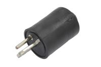 """Разъем аудио СШ-2 """"СШ"""" пластик на кабель под винт 1-602"""