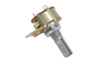 Резистор переменный S16KN1-B50K 3+2pin B50K d=17mm L=20mm моно с выкл.