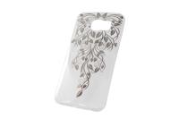 """Чехол """"Carol с впаянными кристаллами"""" Samsung Galaxy S6  00-186"""