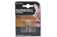 Duracell CR123 lithium 3V батарейка