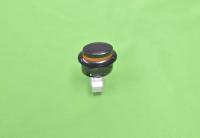 01040663 Кнопка подсветки Gefest ПКН-507-223 овал (черная)