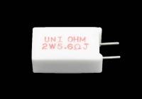 Резистор   2W       5.6 OM (керамика, радиальные)