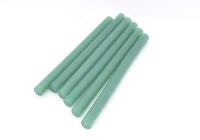 Стержень для клеевого пистолета D=7mm L=100mm зеленый (6 шт) 09-1018