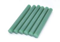 Стержень для клеевого пистолета D=11.2mm L=100mm зеленый (6 шт) 09-1228