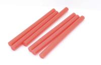 Стержень для клеевого пистолета D=7mm L=100mm красный (6 шт) 09-1019
